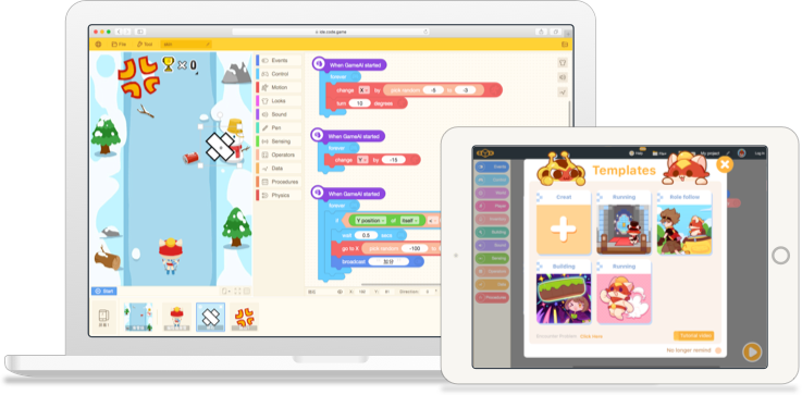 CODE GAME - Interesting platform for kids to learn programming!